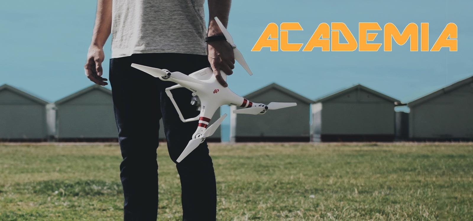 Curso de drones gratis academia