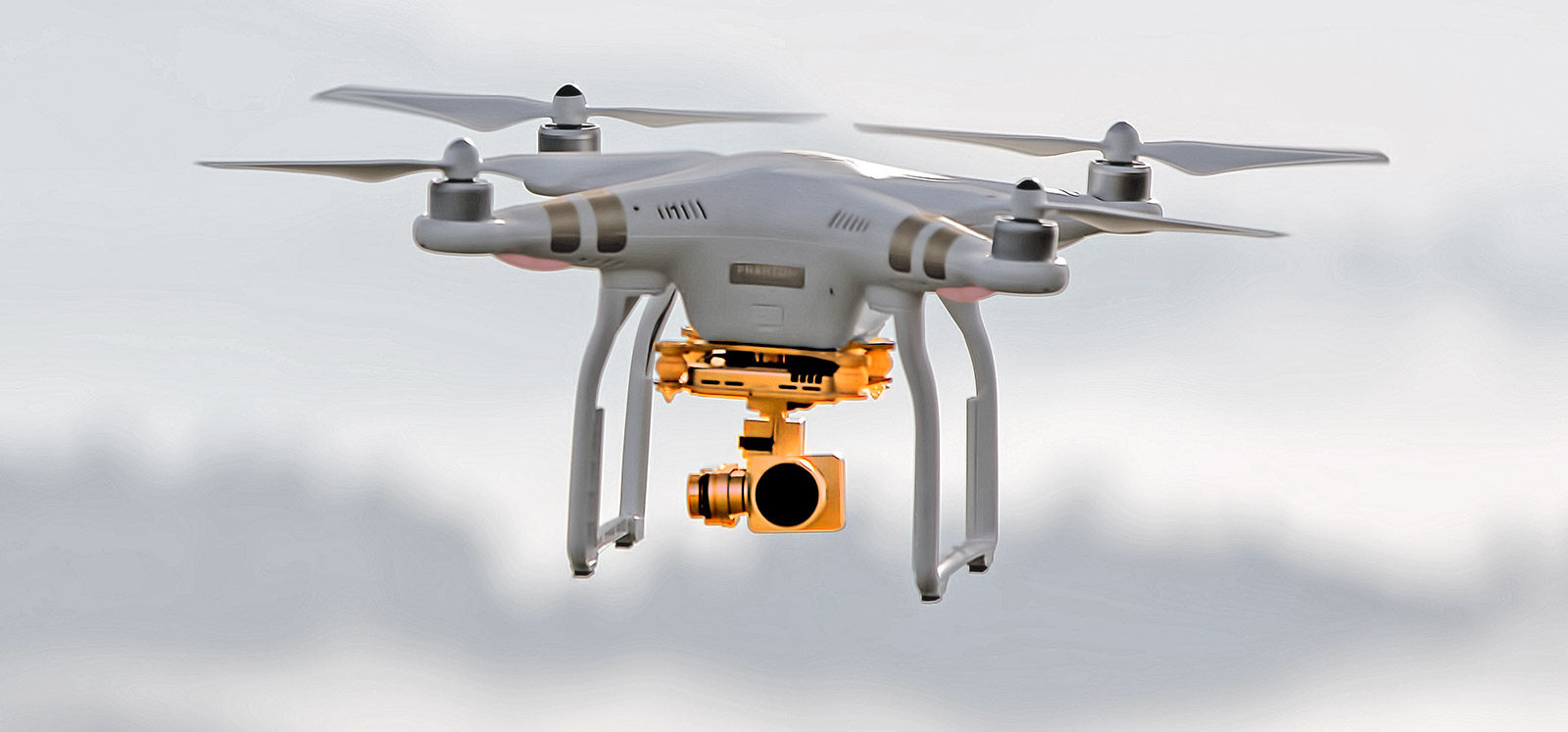 gimbal de un drone