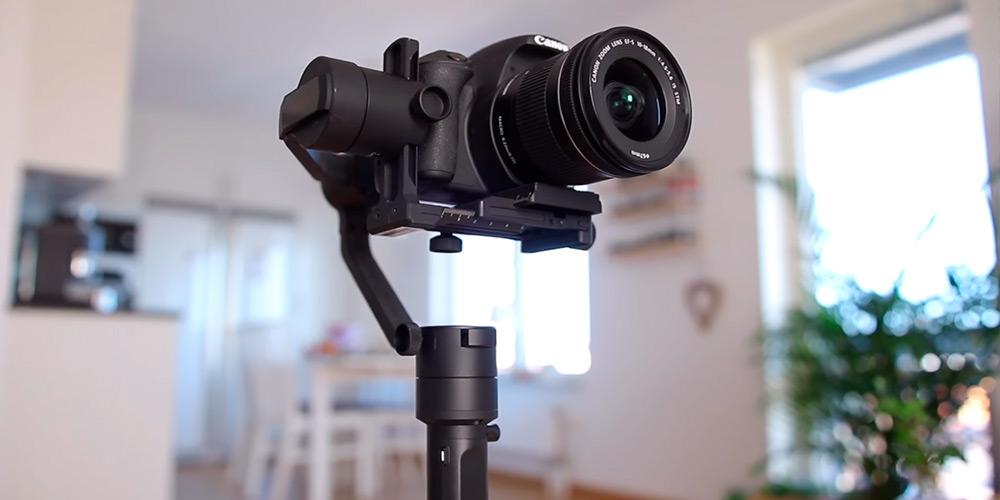 gimbal dslr cámara reflex