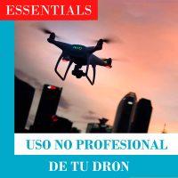 uso recreativo de un dron