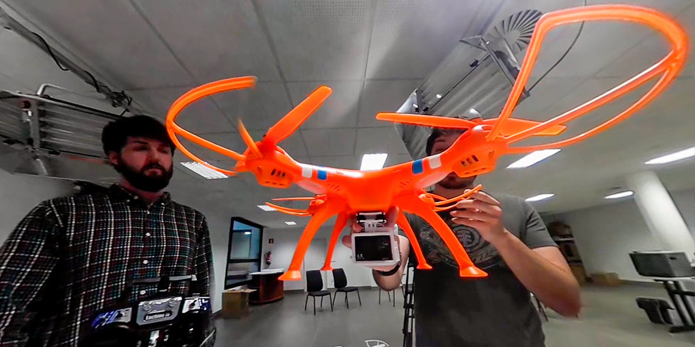 tipos de drones para gopro