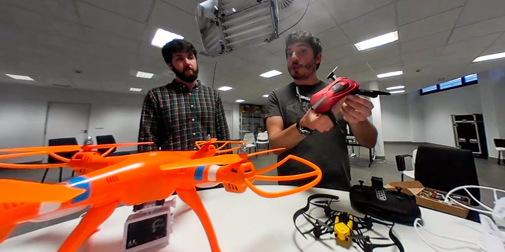 tipos de dron drones selfie