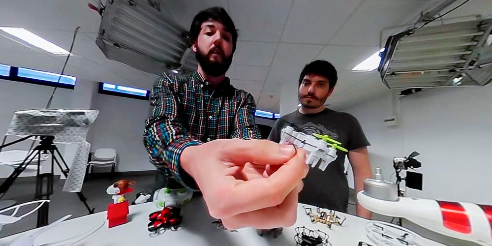 tipos de dron mini drones con cámara fpv