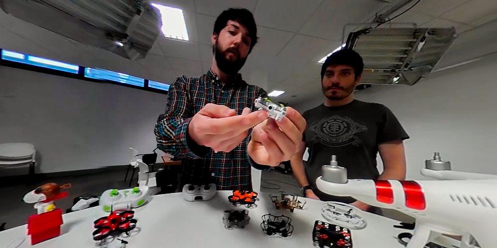 tipos de dron mini drones con camara