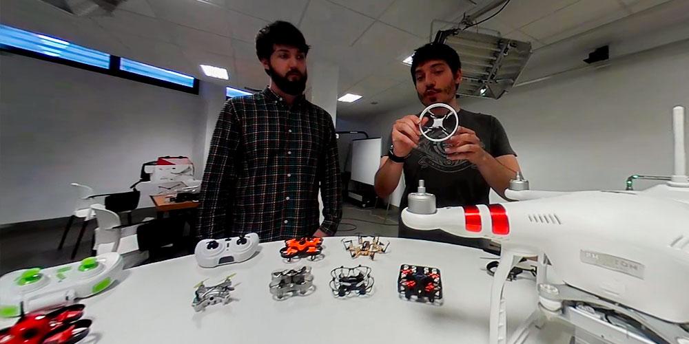 tipos de dron mini drones