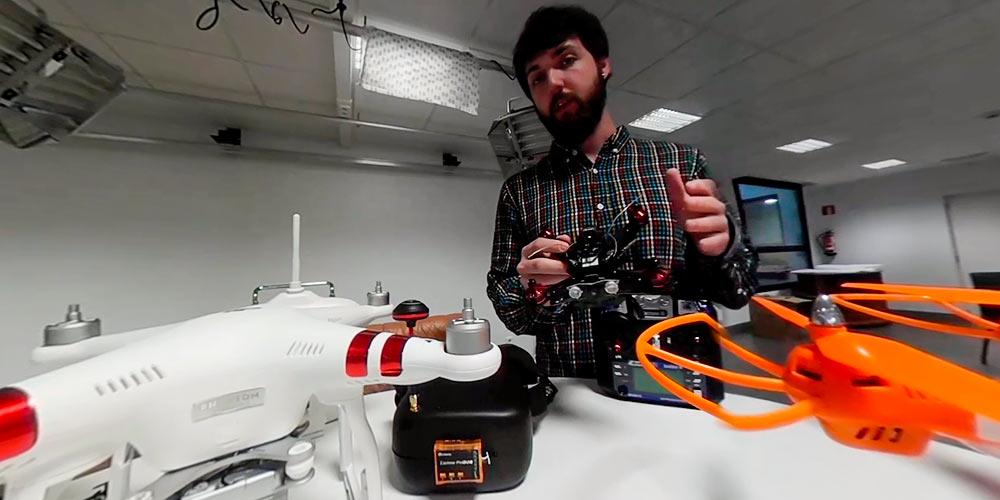 topos de drones de carreras