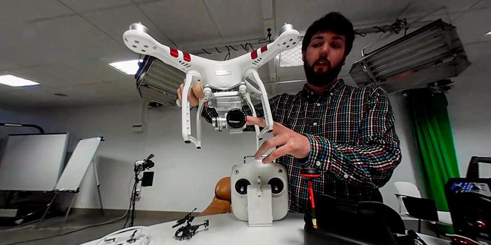 tipos de drones profesionales
